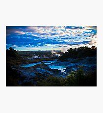 Lámina fotográfica Rotorua