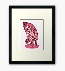 Mad Spaceman Series: Pink Slip Framed Print