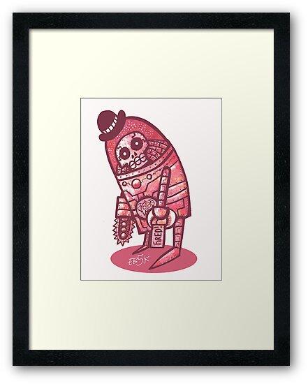 Mad Spaceman Series: Pink Slip by edbot5000