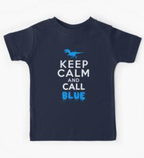 Keep Calm and Call Blue | Raptor Kids Tee