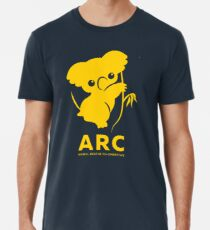 Katie the ARC Koala - we are working hard for you little one - in yellow Premium T-Shirt