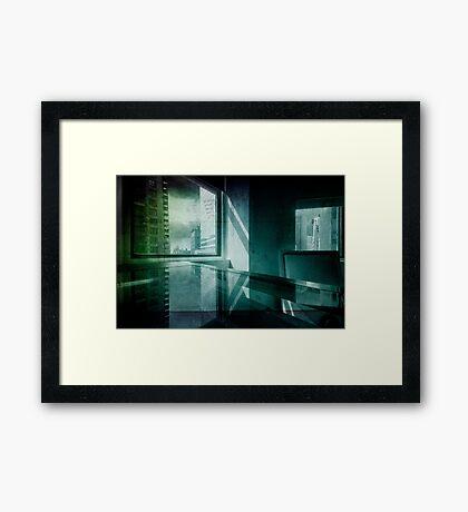 Office in New York Framed Print