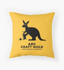 ARC Craft Guild gear: Pillows, Hangings, Stickers! Stuff for your pool room or shelter Throw Pillow