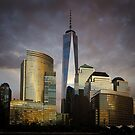 Sunset on Lower Manhatten  by Mick Kupresanin