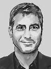 George Clooney by Nigel Silcock