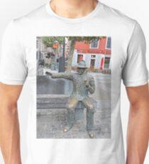 Statue of Inspector Maigret, Liege, Belgium Unisex T-Shirt