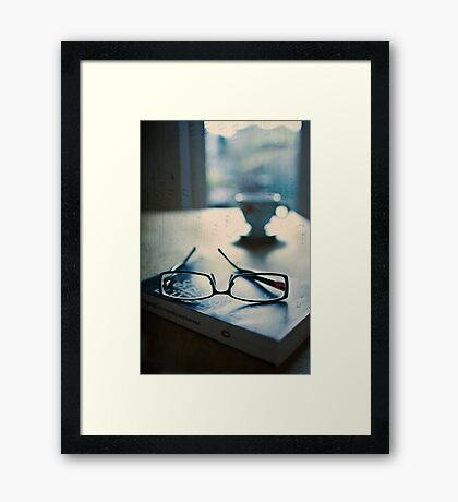 Which one are you? Framed Print