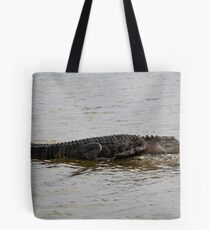 Lazy Gator Tote Bag