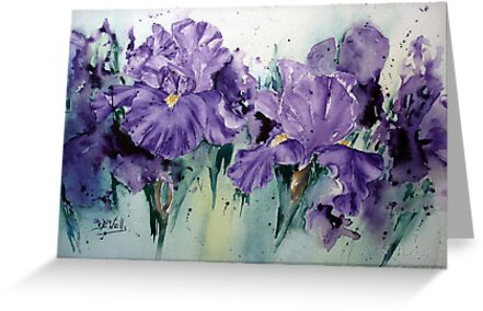 Wacky-Iris by Bev  Wells