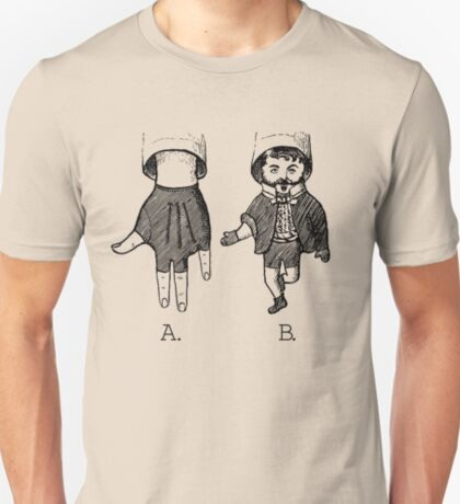 Advanced Hand Puppetry Technique T-Shirt