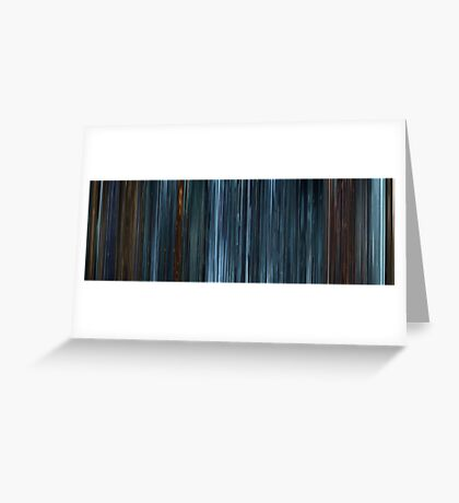 Moviebarcode: TRON: Legacy (2010) Greeting Card