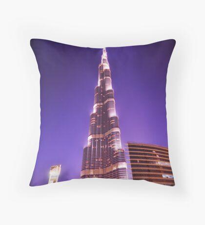 The Burj Throw Pillow