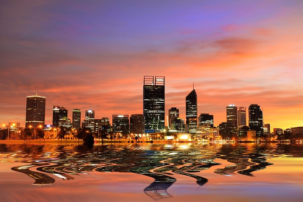 Perth City, Western Australia by Marc Russo
