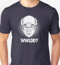 What would Larry David do? Slim Fit T-Shirt