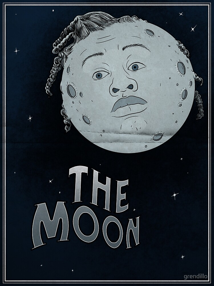 The Moon // Orange is the New Black by grendillo