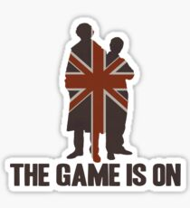 Sherlock - The Game Is On! Sticker
