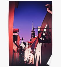 Old Town, Toompea. Poster