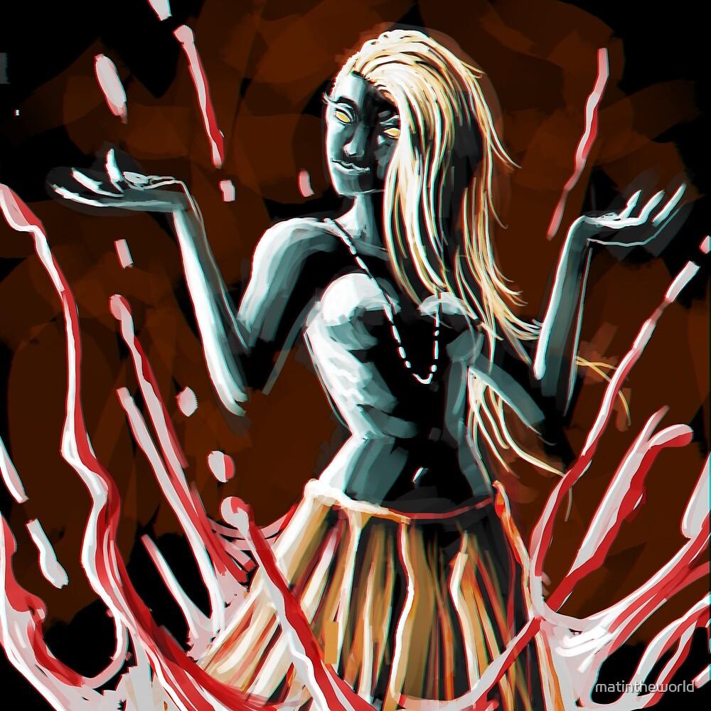 blood magic queen by matintheworld
