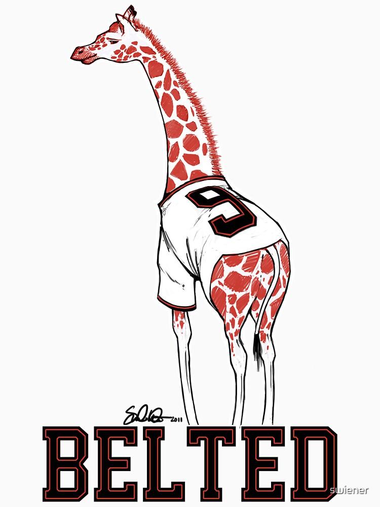 Belted Belt Giraffe by swiener