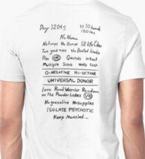 Mad Max: Fury Road - Back TATTOO Unisex T-Shirt