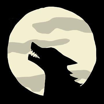 Werewolf Full Moon by verycoolcat