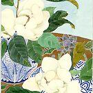 Double Magnolia Grandiflora by Gabby Malpas
