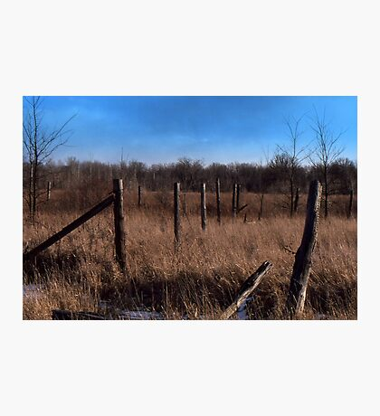A Simple Landscape Photographic Print