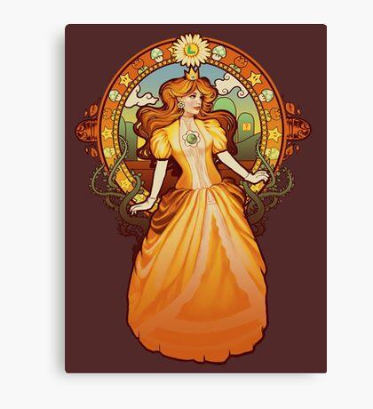 Daisy Nouveau Canvas Print