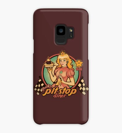 Peach's Pit Stop Diner Case/Skin for Samsung Galaxy