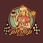 Peach's Pit Stop Diner by MeganLara