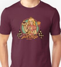 Peach's Pit Stop Diner Unisex T-Shirt