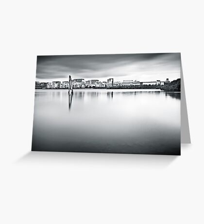 Urban Stillness Greeting Card
