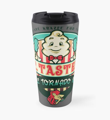 Mr. Tastee's Blue Tornado Bars Travel Mug