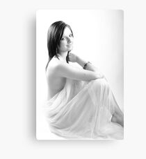Zoe - Sensuality - High Key Canvas Print