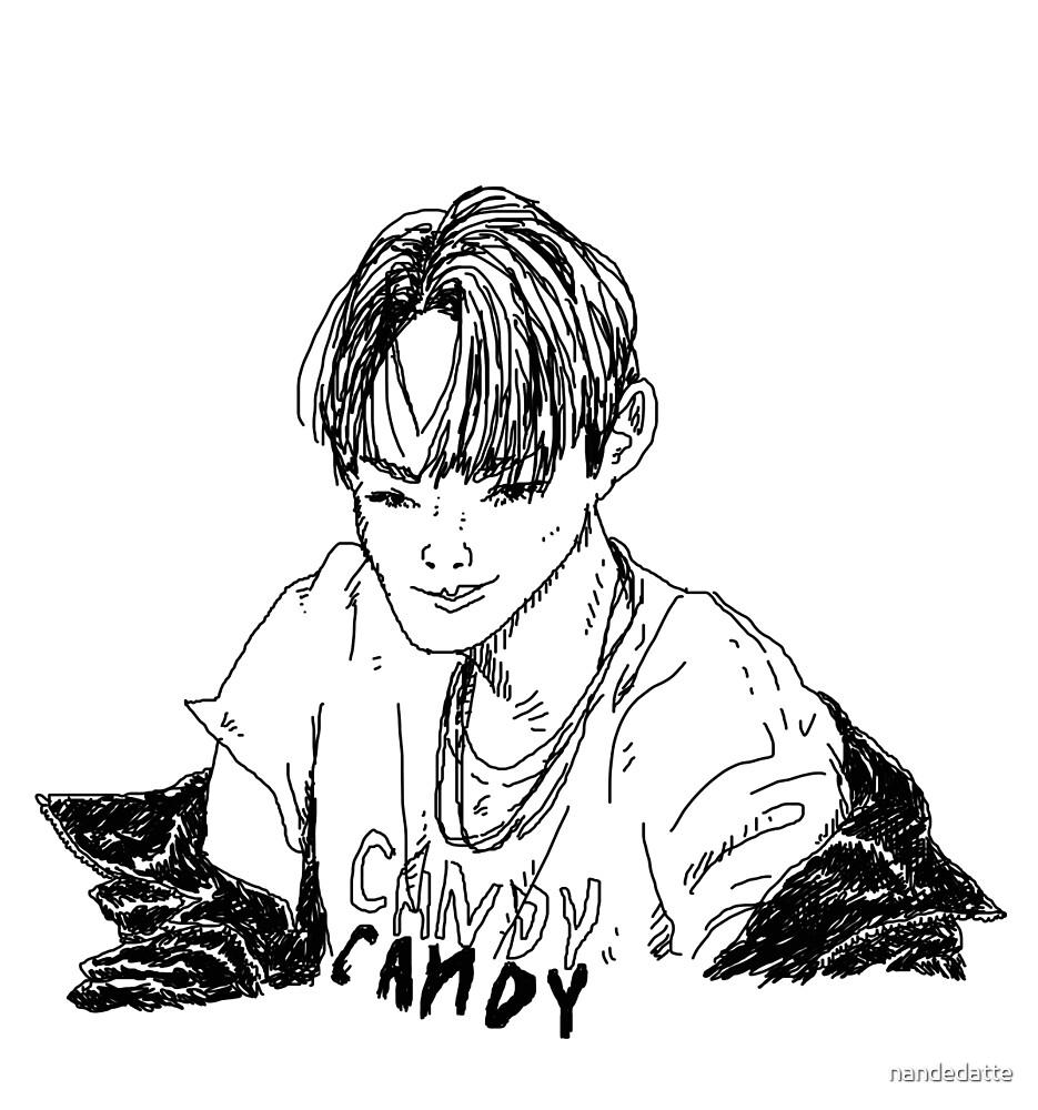 Candy Candy Baekhyun (line) by nandedatte