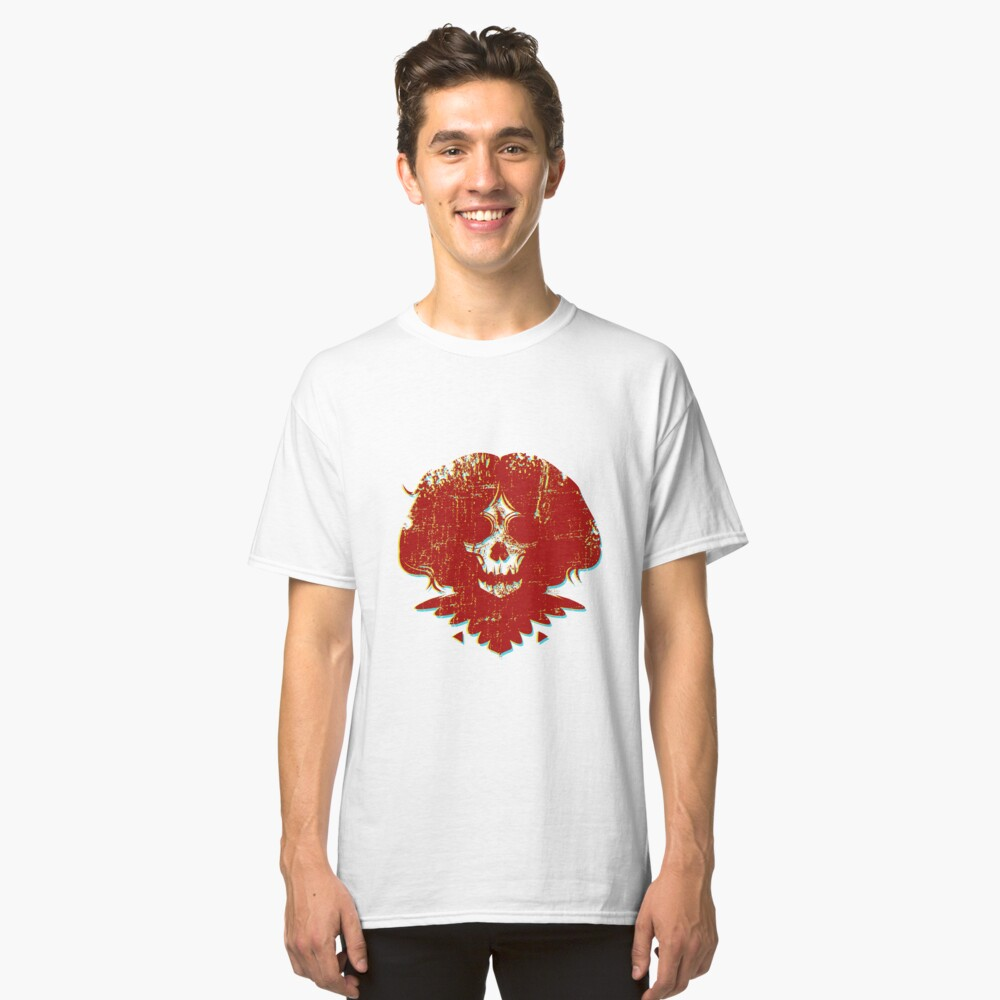 Ghostface - Red Classic T-Shirt