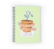 Wheat is Wheat Spiral Notebook