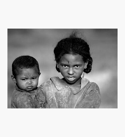 Malagasy Children II Photographic Print