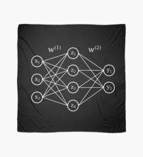 Neural network white Scarf