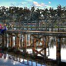 Kids at Marma Lake Murtoa by Jennifer Craker