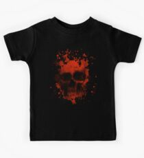 Blood And Skull Kids Tee