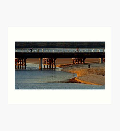 The New Barwon Heads Bridge Art Print