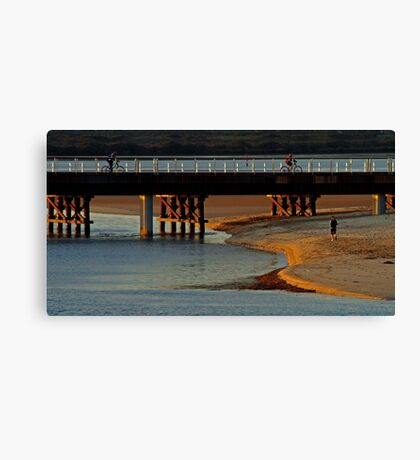 The New Barwon Heads Bridge Canvas Print