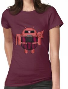 ZAKDROID-II Womens Fitted T-Shirt