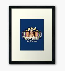 King of the Cosmos Framed Print