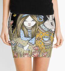 Curiouser and Curiouser Mini Skirt