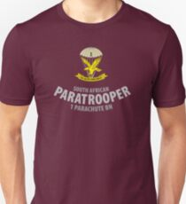 South African Paratrooper Shirt (1 Parachute Bn) SADF Unisex T-Shirt
