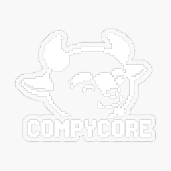 CompyCore Transparent Sticker