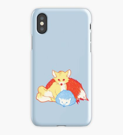 Fast Friends iPhone Case