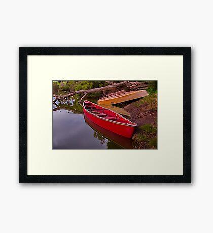 """Billabong Reflections"" Framed Print"